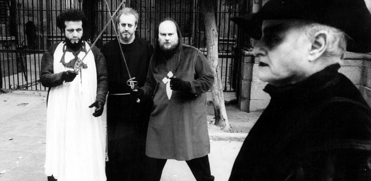 Los-resucitados_Foto-fija.-Manuel-Tallafé,-Luciano-Barriatúa,-Santiago-Segura,-Paul-Naschy.